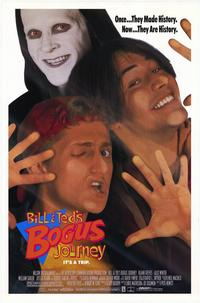 Bill & Ted's Bogus Journey - 43 x 62 Movie Poster - Bus Shelter Style A