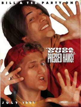 Bill & Ted's Bogus Journey - 27 x 40 Movie Poster - Style B