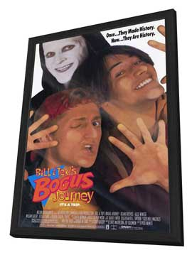 Bill & Ted's Bogus Journey - 27 x 40 Movie Poster - Style A - in Deluxe Wood Frame