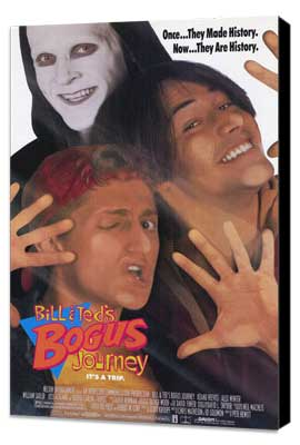 Bill & Ted's Bogus Journey - 27 x 40 Movie Poster - Style A - Museum Wrapped Canvas
