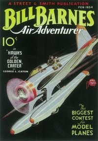 Bill Barnes Air Adventurer (Pulp) - 11 x 17 Pulp Poster - Style A