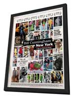 Bill Cunningham New York - 27 x 40 Movie Poster - Style A - in Deluxe Wood Frame