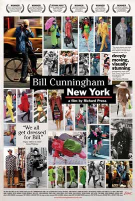 Bill Cunningham New York - 27 x 40 Movie Poster
