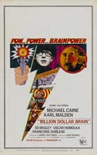 Billion Dollar Brain - 11 x 17 Movie Poster - Style D