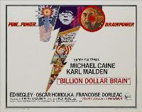 Billion Dollar Brain - 30 x 40 Movie Poster - Style A