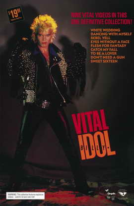 Billy Idol: Vital - 11 x 17 Movie Poster - Style A