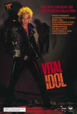 Billy Idol: Vital - 27 x 40 Movie Poster - Style A
