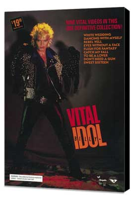Billy Idol: Vital - 11 x 17 Movie Poster - Style A - Museum Wrapped Canvas