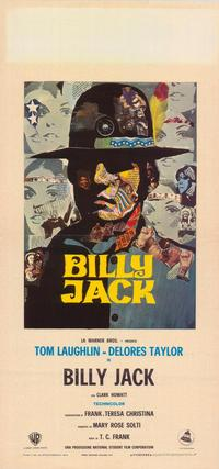 Billy Jack - 39 x 55 Movie Poster - Italian Style A