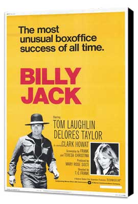 Billy Jack - 27 x 40 Movie Poster - Style A - Museum Wrapped Canvas