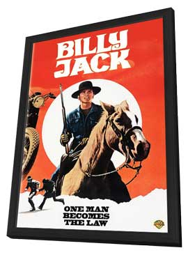 Billy Jack - 11 x 17 Movie Poster - Style A - in Deluxe Wood Frame