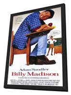 Billy Madison - 11 x 17 Movie Poster - Style A - in Deluxe Wood Frame