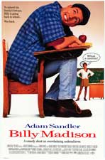 Billy Madison - Movie Poster - Reproduction - 11 x 17 Style A