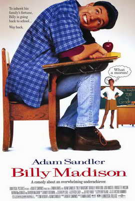Billy Madison - 27 x 40 Movie Poster - Style A