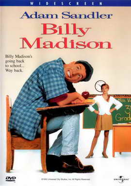 Billy Madison - 27 x 40 Movie Poster - Style C