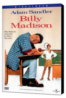 Billy Madison - 27 x 40 Movie Poster - Style C - Museum Wrapped Canvas