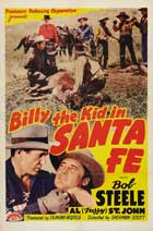 Billy the Kid in Santa Fe - 27 x 40 Movie Poster - Style A