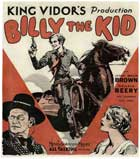 Billy the Kid - 30 x 30 Movie Poster - Style A
