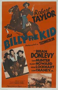 Billy the Kid - 11 x 17 Movie Poster - Style B