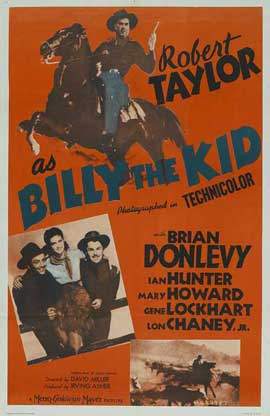 Billy the Kid - 27 x 40 Movie Poster - Style B