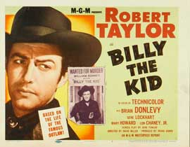 Billy the Kid - 11 x 14 Movie Poster - Style A