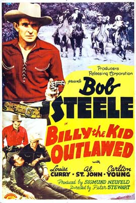 Billy the Kid Outlawed - 27 x 40 Movie Poster - Style A