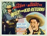 Billy the Kid Returns - 30 x 40 Movie Poster - Style A