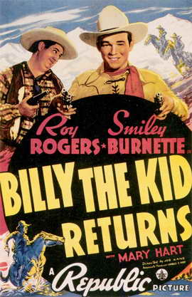 Billy the Kid Returns - 11 x 17 Movie Poster - Style A