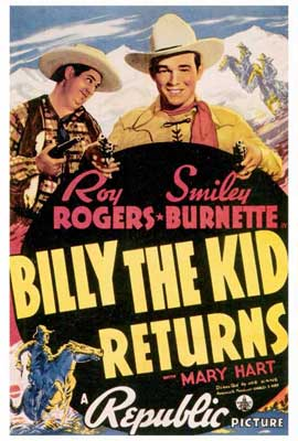 Billy the Kid Returns - 27 x 40 Movie Poster - Style A