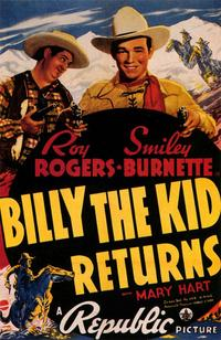 Billy the Kid Returns - 43 x 62 Movie Poster - Bus Shelter Style A