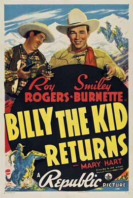 Billy the Kid Returns - 11 x 17 Movie Poster - Style B