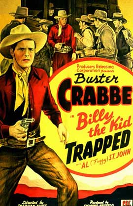 Billy the Kid Trapped - 11 x 17 Movie Poster - Style A