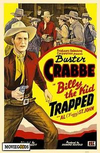 Billy the Kid Trapped - 27 x 40 Movie Poster - Style A