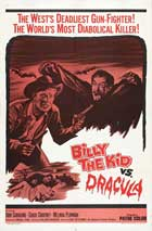 Billy the Kid vs Dracula - 27 x 40 Movie Poster - Style B