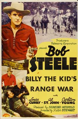 Billy the Kid's Range War - 11 x 17 Movie Poster - Style B