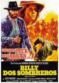 Billy Two Hats - 27 x 40 Movie Poster - Spanish Style A