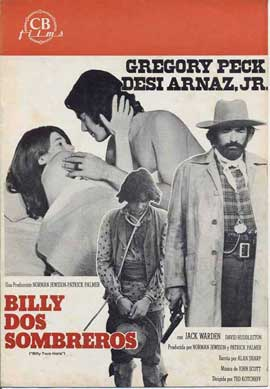 Billy Two Hats - 11 x 17 Movie Poster - Spanish Style B