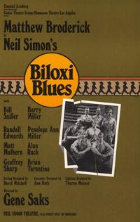 Biloxi Blues (Broadway) - 27 x 40 Movie Poster - Style A