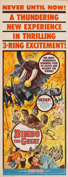 Bimbo the Great - 14 x 36 Movie Poster - Insert Style A