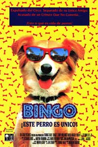 Bingo - 11 x 17 Movie Poster - Spanish Style A