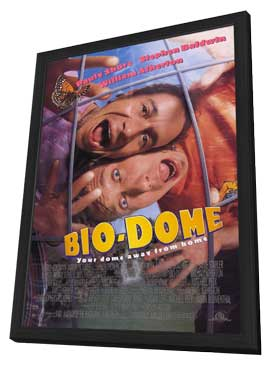 Bio-Dome - 11 x 17 Movie Poster - Style B - in Deluxe Wood Frame