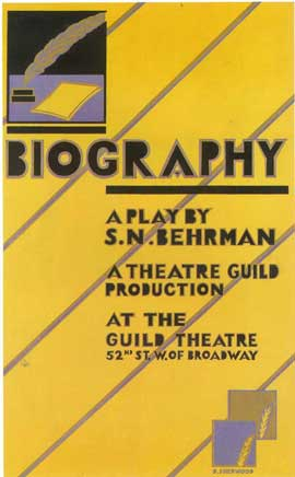 Biography (Broadway) - 14 x 22 Poster - Style A