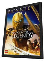 Bionicle: The Legend Reborn - 11 x 17 Movie Poster - Polish Style A - in Deluxe Wood Frame