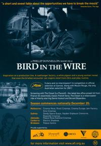 Bird in the Wire - 11 x 17 Movie Poster - Style A