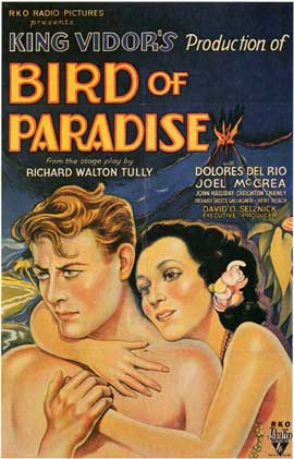 Bird of Paradise - 11 x 17 Movie Poster - Style A