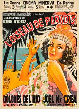 Bird of Paradise - 27 x 40 Movie Poster - Style B
