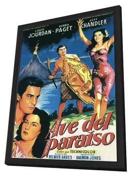 Bird of Paradise - 11 x 17 Movie Poster - Style A - in Deluxe Wood Frame