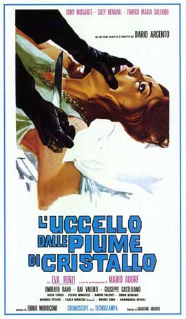 The Bird with the Crystal Plumage - 11 x 17 Movie Poster - Italian Style A