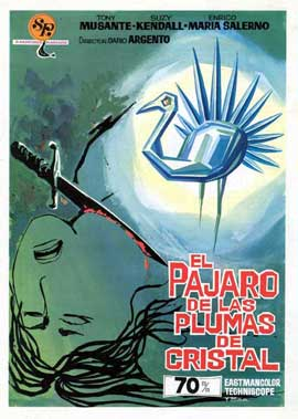 The Bird with the Crystal Plumage - 27 x 40 Movie Poster - Spanish Style A