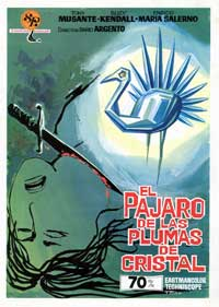 The Bird with the Crystal Plumage - 43 x 62 Movie Poster - Spanish Style A